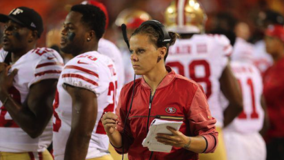 Katie Sowers the latest female NFL coach