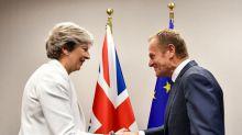 May e Tusk concordam que mais trabalho precisa ser feito para negociações sobre Brexit avançarem