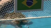 Raw: Turtle Predicts Brazil Will Beat Colombia