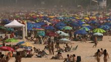 Strände in Rio wieder voll - trotz Corona