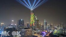2018跨年新焦點! 曼谷世界級高樓3D光雕投影首度登場