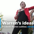Sen. Elizabeth Warren unveils abortion rights platform following new laws