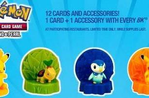 Check out the Pokemon goodies from Burger King