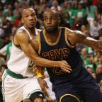 LeBron James breaks Michael Jordan's play-off scoring record as he leads Cleveland Cavaliers to the NBA finals