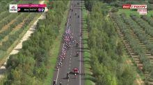 Cyclisme - Giro : La chute de Viviani