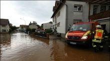 Heftiger Gewitterregen überflutet Straßen und Keller in mehreren Bundesländern