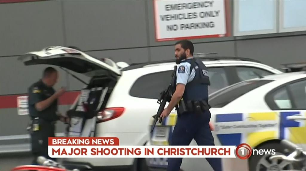 'Multiple fatalities' in New Zealand mosque shootings
