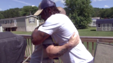 Man reunites with police officer he saved from burning vehicle despite past wrongful arrest