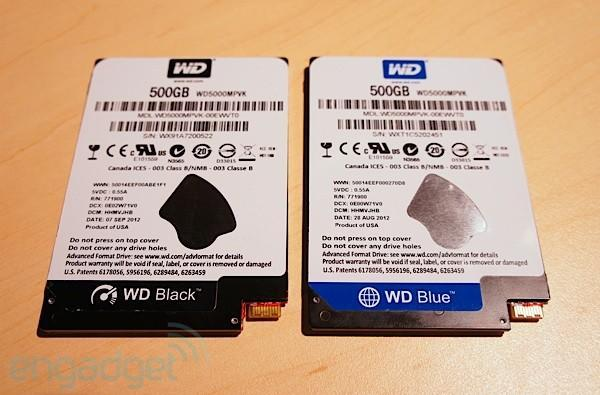 Western Digital brings wafer thin 5mm hard drives to IDF, we go hands-on (video)