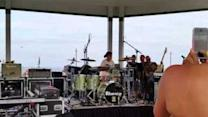 Eleven-Year-Old Drummer Wows Crowd