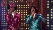 Pharrell and Fallon Perform as 80's Duo