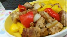 我的韓式煮意 - 韓式醬彩椒雞扒