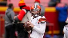 Mayfield Stops Browns' QB Carousel, Team Pleased With Growth