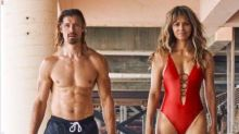 Halle Berry hits the beach in a 'Baywatch'-inspired swimsuit