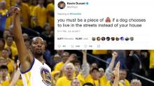 Kevin Durant Burns Fan Who Tried to Troll Him on Twitter