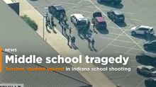 Indiana middle school student shoots teacher, classmate