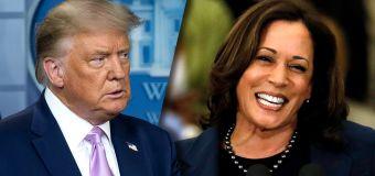Harris will hurt Biden in swing states, Trump says