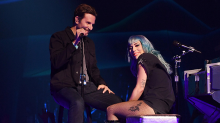 Bradley Cooper's surprise duet with Lady Gaga