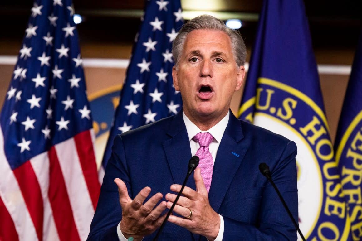 McCarthy threatens long-shot bid to oust Pelosi if Dems impeach over SCOTUS
