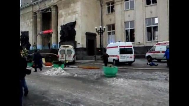 Female suicide bomber kills 13 at Russian train station