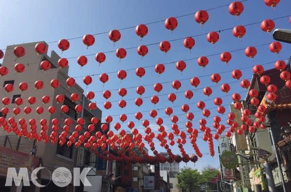 統一渡假村規劃鹿港廟宇巡禮,祈福走春非常適合春節。