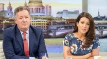 """Good Morning Britain's Susanna Reid calls Piers Morgan 'jealous' as he brands Kate Beckinsale's romance with younger man """"toe-curling"""""""