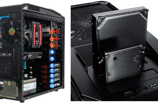 Thermaltake shoves SATA HDD docks into V9 BlacX Edition PC enclosure