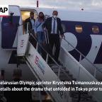 Belarus sprinter thanks Japan, Poland officials