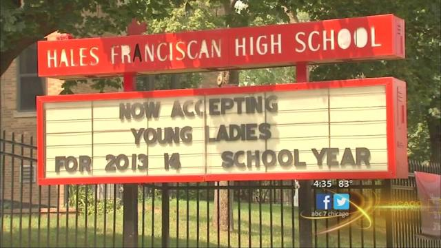 Hales Franciscan High School welcomes girl students for first time