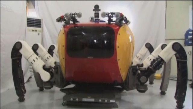 Crab robot used to explore the sea