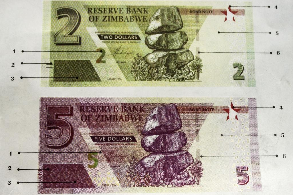 Bond notes didn't take off, so getting a proper currency would help (AFP Photo/Zinyange AUNTONY)