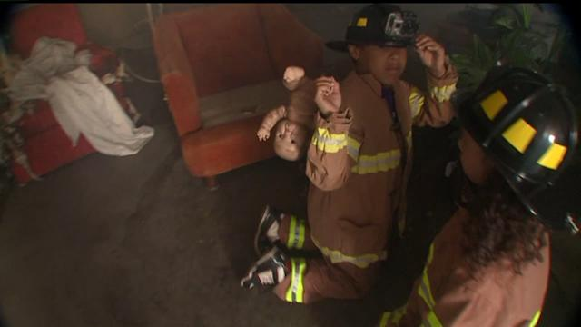 Kids Get to Be Firefighters for a Day