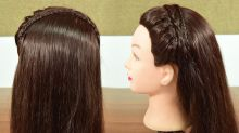 Hairstyle Tutorial: hair band hairstyle For Girls