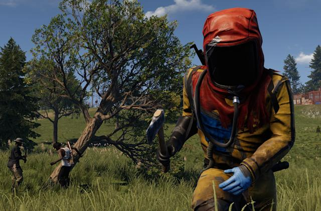 Survival game 'Rust' will hit PS4 and Xbox One on May 21st