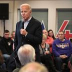 Joe Biden Challenges Iowa Man to a Push-Up Contest During Heated Exchange