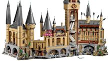 LEGO launches gigantic 6000-piece Hogwarts Castle