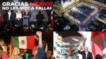 """AMLO: """"Gracias México, no les voy a fallar"""""""