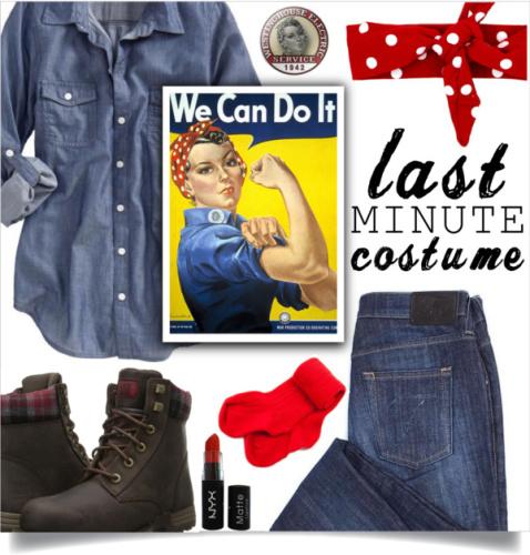 Rosie Riveter Halloween Costume