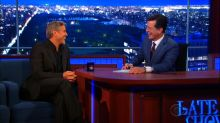 George Clooney Promotes Fake Movie on New 'Late Show'