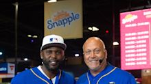 """Baseball Great Cliff Floyd Crowned """"Flip for Flavor"""" Champion In First-Ever Snapple All-Star Bottle Flip Challenge"""