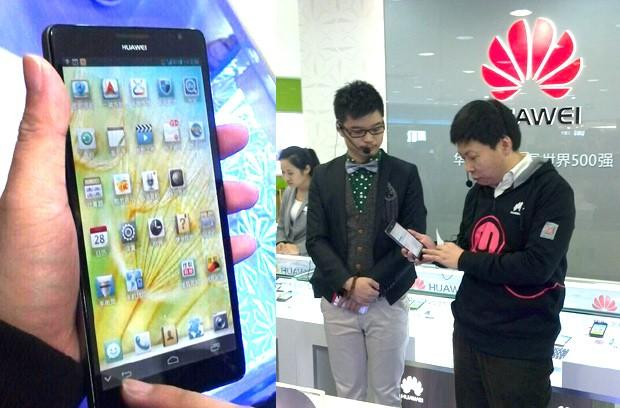 Huawei's 6.1-inch 1080p Ascend Mate flaunted by exec, leaves little surprise for CES (update: 720p only)