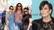 Kris is not happy with Kendall and Kylie