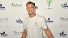 Rob Gronkowski is going back to Gillette Stadium with his latest CBD partnership