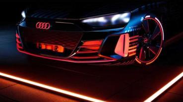 和 R8 同工廠打造:Audi 首款電動跑車 e-Tron GT 準備進入量產程序