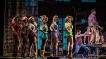 Take a peek behind the scenes of the 'Kinky Boots' musical set
