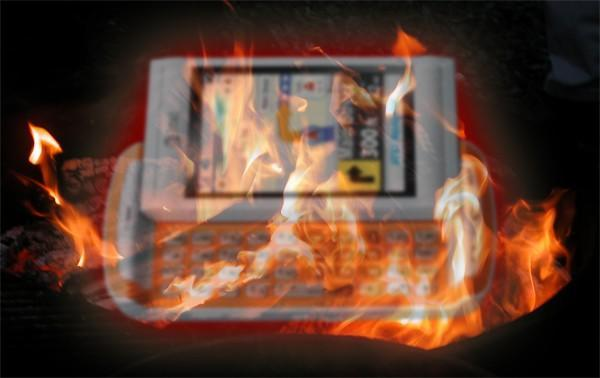 AT&T Quickfire could overheat, spontaneously burst into irony if charged incorrectly