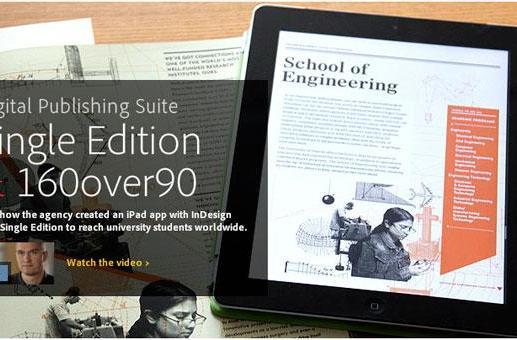 Adobe Digital Publishing Suite Single Edition gets cozy with Creative Cloud, code deficient designers rejoice