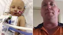 Father barred from seeing four-year-old cancer-stricken daughter