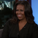 Michelle Obama reveals what life inside the White House is like on Jimmy Kimmel