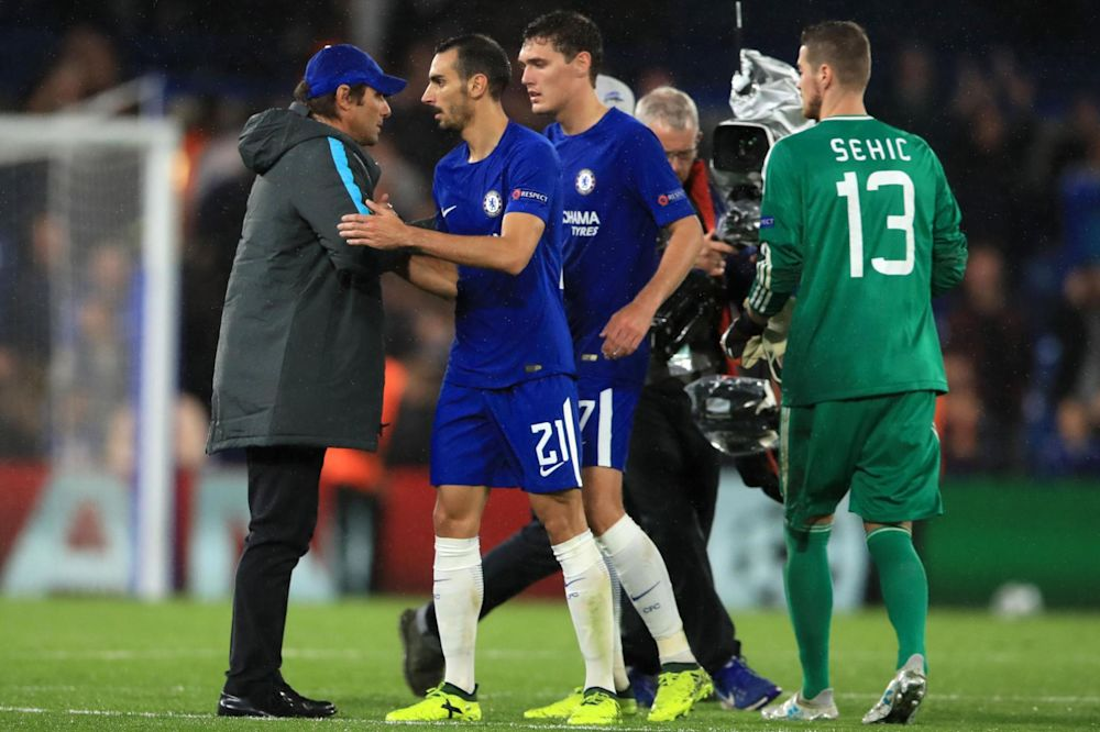 Antonio Conte's trust is rewarded as Chelsea dish out six of the best on UEFA Champions League return